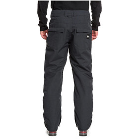 Quiksilver Estate Pantalones Snowboard Hombre, black heather